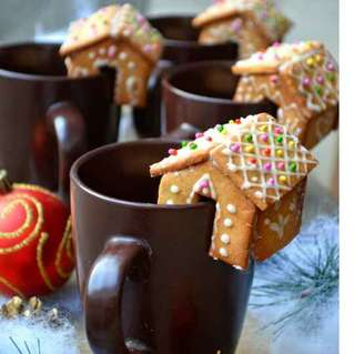 Mini Mug Gingerbread House
