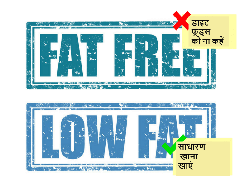 no diet foods hindi