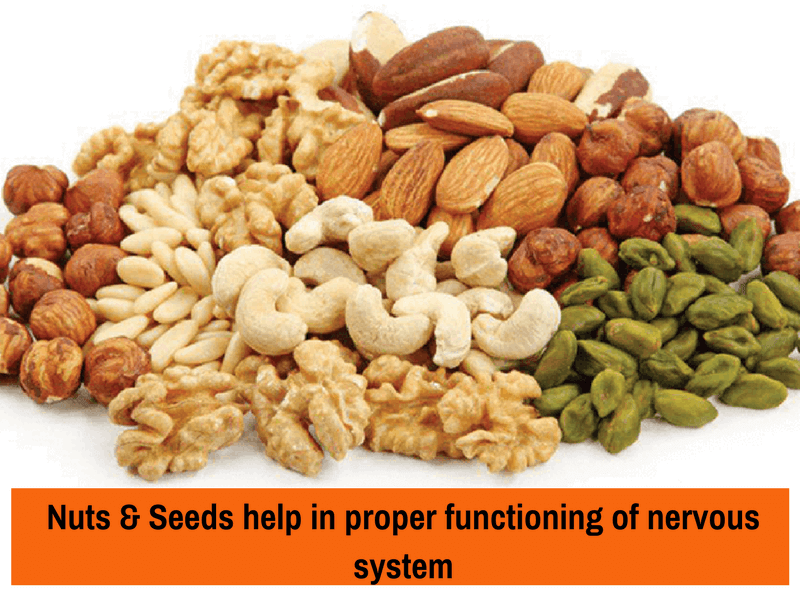 nuts and seeds brain dev