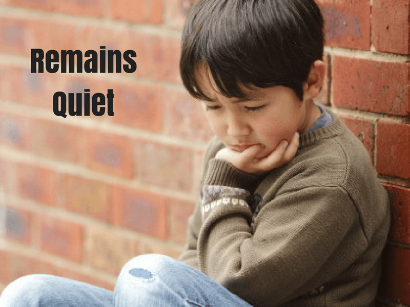 remains quiet bullying english