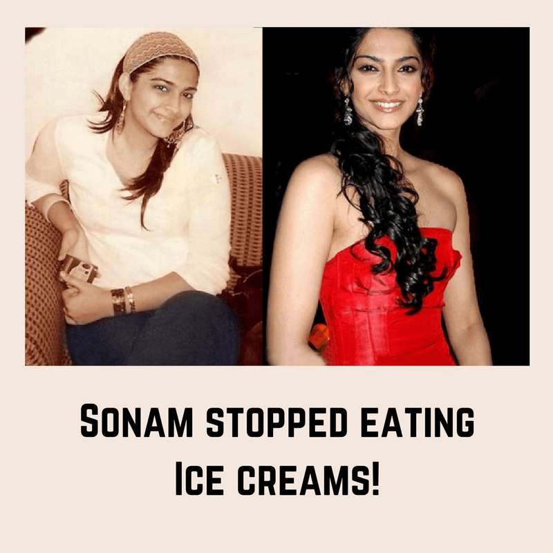 sonam kapoor fat to fit