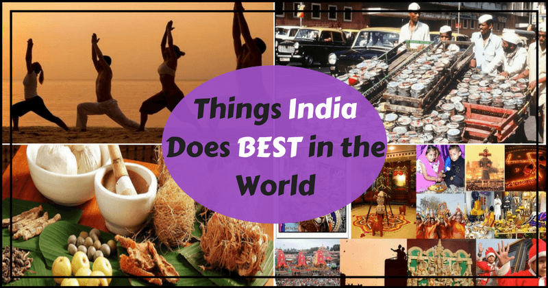 Things India does best in the world english cover