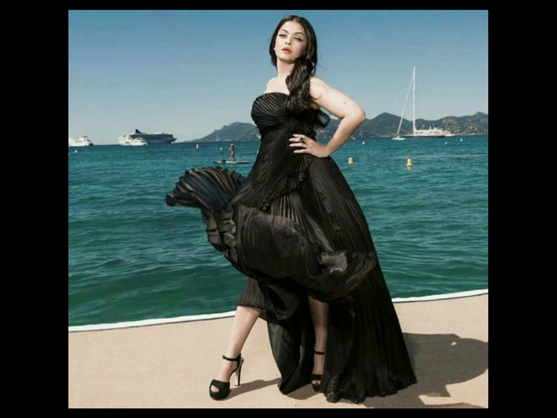 black gown cannes hindi