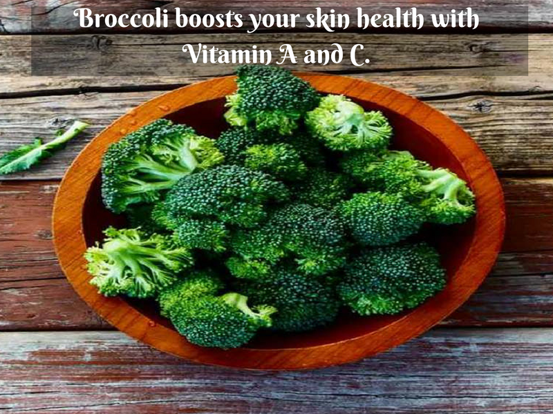 broccoli skin glow english