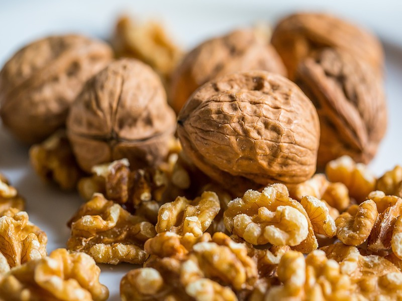 walnut- food to have during periods