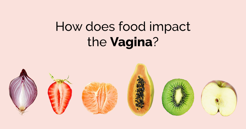 Right! Idea foods for a healthy vagina